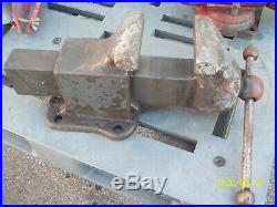 Reed 106 P Vise, 6 jaw, non-swivel base, good condition