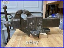 Reed 106 Vise, 6 jaw, non-swivel base, good condition