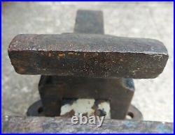 Reed Bench Vise, Model 105 R, 5 Jaws, Stationary Non-Swivel Base, vintage