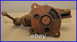 Reed Mfg swivel head & base vise 3 1/2 wide jaw patent 1914 model 402 USA tool