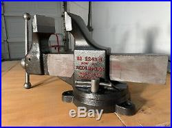 -Reed Vise No. 224 1/2 R WithSwivel Base -Full Restore-