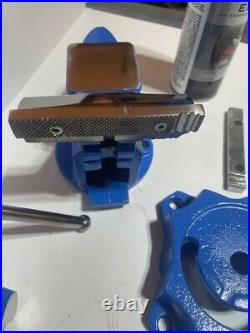 Restored CRAFTSMAN 4-1/2 Reversible Jaws Swivel Base Bench Vise 51854 Anvil