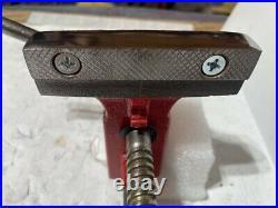 Restored Fuller Bench Vise 4 Wide Anvil Pipe Jaws Swivel Base Excellent