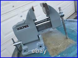 Restored Vtg WILTON TILTING VISE 4 JAWS 180 deg TILT BASE swivel Bench Gunsm