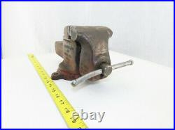 Ridge Tool No. 400-R 4 Jaws 5 Open Utility Swivel Base Bench Vise Made in USA