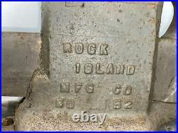 Rock Island Vise #52 Swivel Jaw And Base
