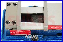 SHARS 5 x 4.29 Precision Mill Vise Anti-Jaw Lifting With Swivel Base New