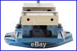 SHARS 6 x 5.9 Precision Mill Vise Anti-Jaw Lifting With Swivel Base CNC New