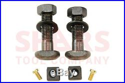 SHARS 6 x 7-1/2 Precision Mill Vise Anti-Jaw Lifting With Swivel Base New