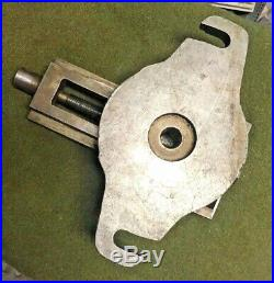 SOUTHBEND Lathe Works Milling Shaper Drill Press Swivel Base 4 Machine Vise