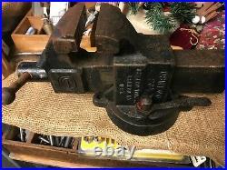 Sawyer Tool Co. Oswego Swivel Base Vise, Model 23-1/2 B, 3-1/2