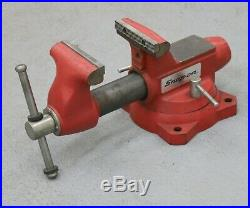 Snap-On 5 Bench Vise with Swivel Base & Pipe Jaws 5-3/4 Opening 1750 by Wilton