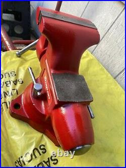 Snap On 6 Wilton Bench Vise With Swivel Base And Pipe Jaw Made In USA