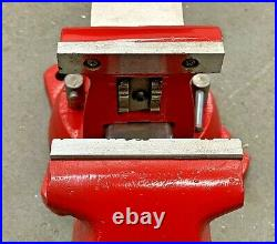 Snap On / Wilton 4 Bench Vise with 4 Smooth Jaws & Swivel Base Bullet Vice