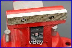 Snap-on Wilton 5 Bench Vise with Swivel Base & Pipe Jaws 5-3/4 Opening