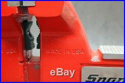 Snap-on Wilton 6 Bench Vise with Swivel Base & Pipe Jaws 5-3/4 Opening