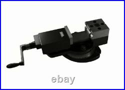 Soba Precision Rotary Head 4 Sided Machine Vise (with Swivel Base) 2-3/8 S1100