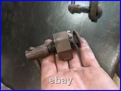 Swivel Base And Hand Lock Down For Wilton Tradesman 1740 Bullet Vise Used