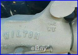 UNUSED 1940's Wilton 940 WE Machinist Bullet Bench Vise Swivel Base 4 Machinist