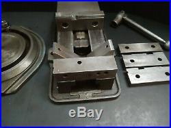 USA! KURT 6 Vise Swivel Base Xtra Jaws & Handle Anglock Vise Machinist Tool D60