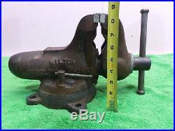 USA WILTON BULLET Bench Vise Swivel Base 3 1/2Jaws 38.8 lb Schiller Illinois