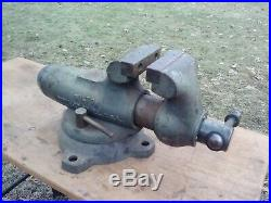 USA! Wilton 9400 4 Bullet Vise 6 Cap. With Swivel Base Vintage Machinist Tool