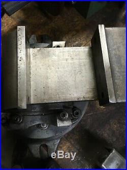 Universal Vise 3 Way Compound Tilting Angle Swivel Base Machine Vise Machinist