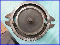 Used Vintage Athol 1026-x Milling Machine Swivel Base Vise 71 lbs Starrett