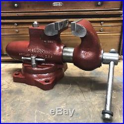 VERY RARE Wilton Bullet Vise Swivel Jaw 4-1/2 Swivel Base 450SJ