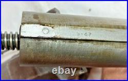VINTAGE 1947 WILTON BABY BULLET VISE 3 JAWS swivel base 930 model NICE