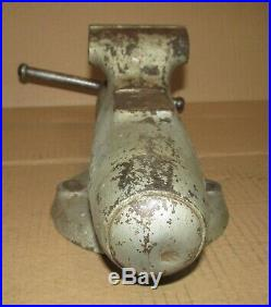 VINTAGE WILTON Bullet Vise No. 3 CHICAGO NO Swivel Base, Early 40's, 4 OPEN