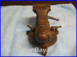 VTG 9-45 Wilton 2 Baby Bullet Vise Swivel Base machinist tool 1945