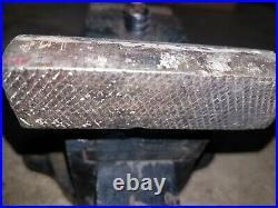 VTG PRENTISS Vise No 19 Swivel Base Self-Adjusting 3 1/2 Jaws Pre-1911 Unmarked