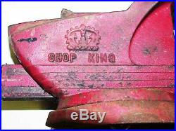 VTG Wilton Shop King HD Swivel Base Bench Vise with Hardie 3-1/2 Jaws 63 3-1/2