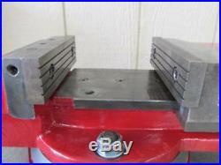 Van Norman Machinist Swivel Base Milling Machine Drill Press Vise Vice 6