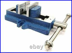 Vertical Milling Slide Swivel Base 4x 5 With Self Centering Vice 2 50mm