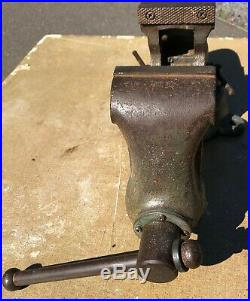 Very Old Wilton Bullet Combo Bench/pipe Vise, Swivel Base, Anvil-40lbs- Ready To