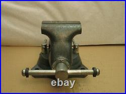 Vintage 1750 Wilton Bullet 5 Swivel Base Bench Vise with Pipe Jaws 50 Pounds