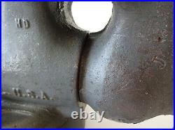 Vintage 1970S Wilton HD 101027/101028 Machinist 4 Bullet Vise With Swivel Base