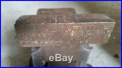 Vintage 4 Athol M & F Co. 624 Bench Vise With Swivel Base Made in U. S. A