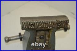 Vintage 4 Wilton USA Machinist Vise Swivel Base, Pipe Jaws, Anvil 111055 30lbs