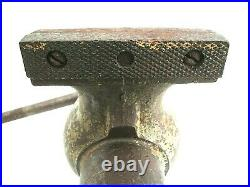 Vintage 5-'46 Wilton Baby Bullet Vise 3 Jaws Swivel Base Model 930 Vg Cond
