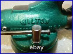 Vintage 920 Wilton Baby Bullet Vise 2 Circa 1962 Swivel Base Chicago USA
