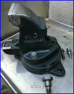 Vintage Bench Vise With Special Swivel Base Made In England