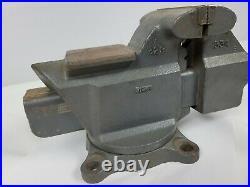 Vintage CRAFTSMAN 3-1/2 Jaws Swivel Base Bench Vise with Anvil Model 51861 USA
