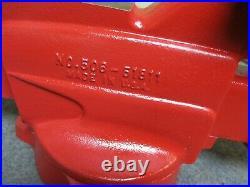 Vintage CRAFTSMAN Bench Vise 5 Jaws Swivel Base Anvil & Pipe Jaws 506.51811 USA