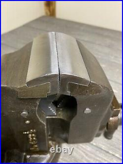 Vintage Chas Parker 3-1/2 Combination Vise Swivel Base No. 433-1/2 Awesome