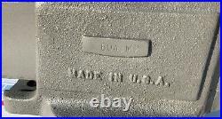 Vintage Columbian 604-M2 4 Jaw Swivel Base Machinist Bench Vise Opens 7 3/4