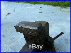 Vintage Columbian No 403 Swivel Base and Jaw Head Bench Vise Made USA