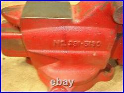 Vintage Craftsman 391.5180 Bench Vise 3 1/2 Jaw Swivel Base Anvil FREE SHIIPPING